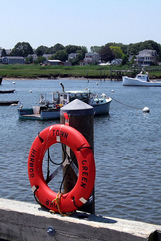 Launching From Green Harbor In Marshfield Ma On The North River