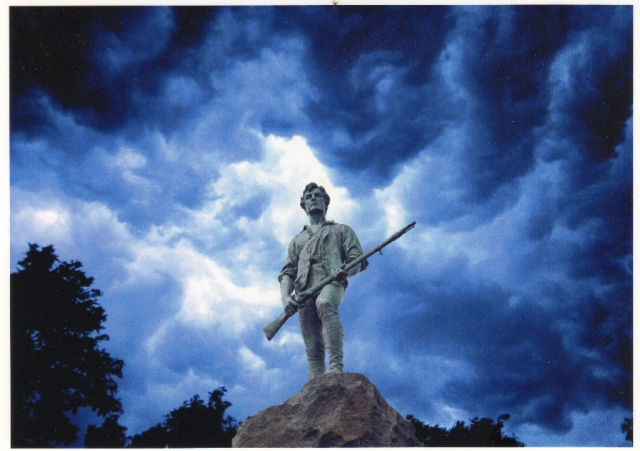 Composite image Minuteman