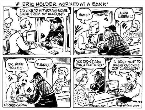 holder in bank