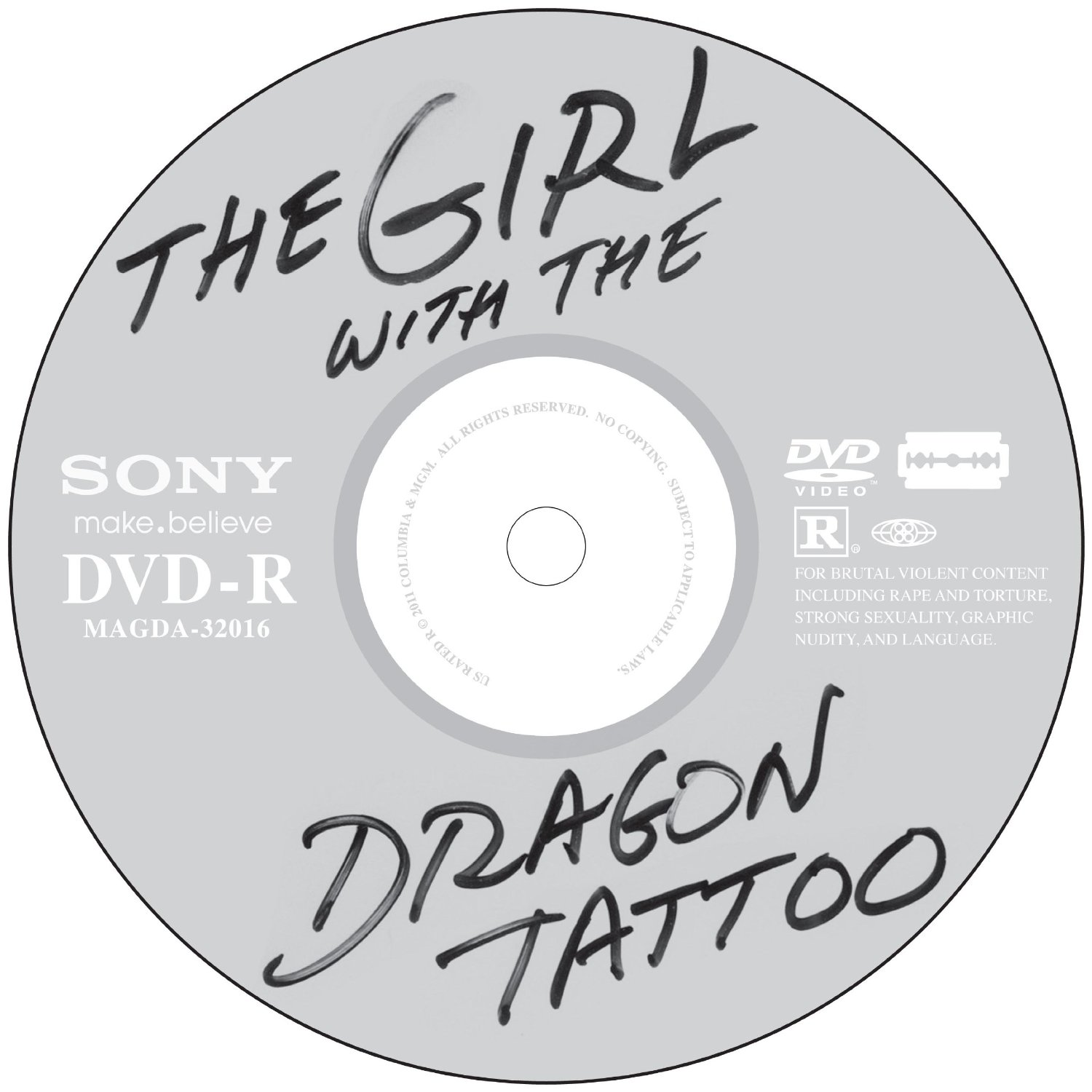 The Girl with the Dragon Tattoo, DVD  UPDATED (Oct 30th