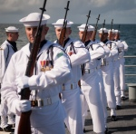 neil-armstrong-remains-burial-at-sea-rifle-guard