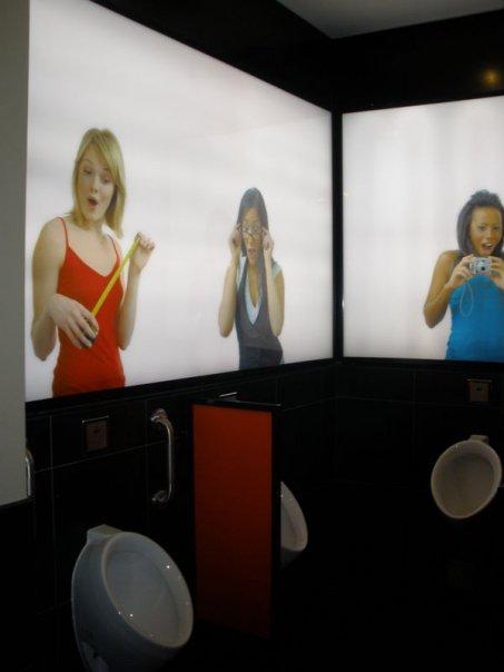 Self-esteem boosting bathroom