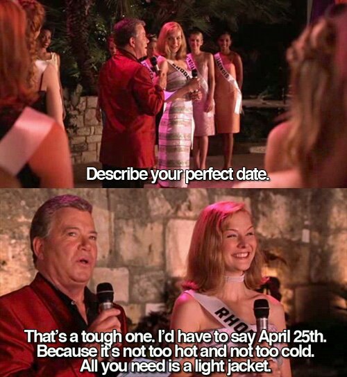 I've been waiting all year to post this