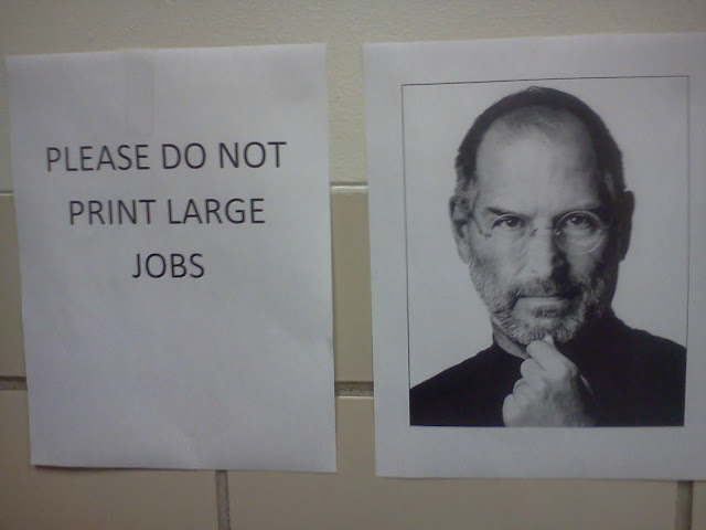Trollin' the computer lab