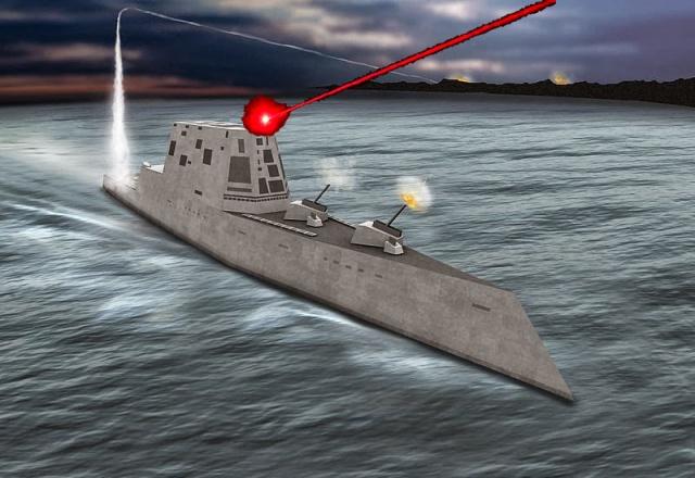 Firing imaginary laser