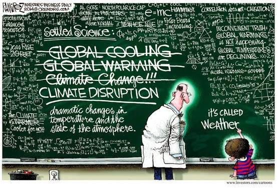 Cartoon - Climate Disruption