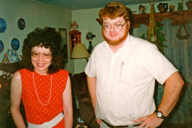Donie and John at Pembroke
