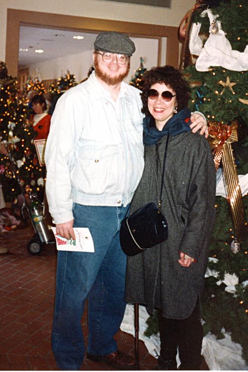 John and Donie at Christmas
