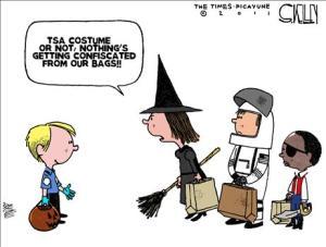 tsa halloween