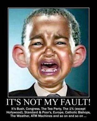 Obama not at fault