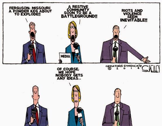 media at fault