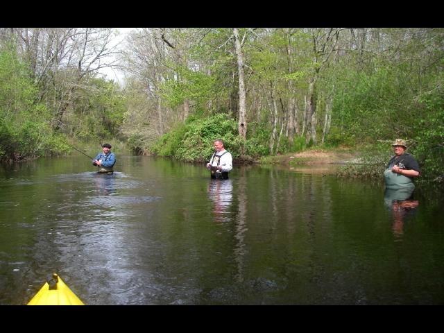 Fishermen in River