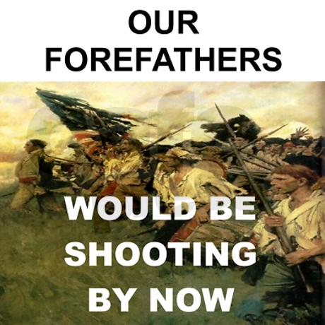 our_forefathers_would_be_shooting_by_now_womens_t