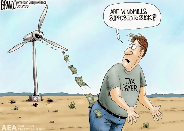 windmills suck