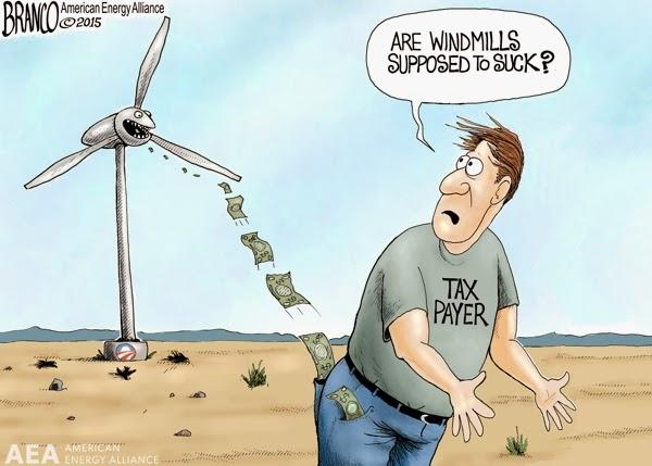 windmills suck