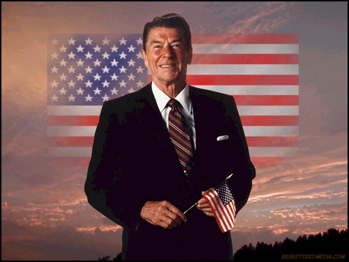 reagan_flag_sunrise